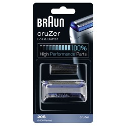 Мрежа + нож за самобръсначка BRAUN (cruZer foil and cutterblock, silver)