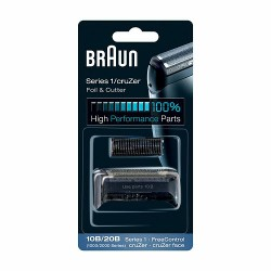 Мрежа + нож за самобръсначка BRAUN (cruZer face foil and cutterblock, black)